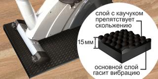 Коврик Mattix-Vibrotex (толщина 15 мм)