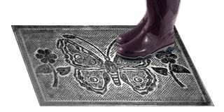 Резиновый коврик «Бабочка»